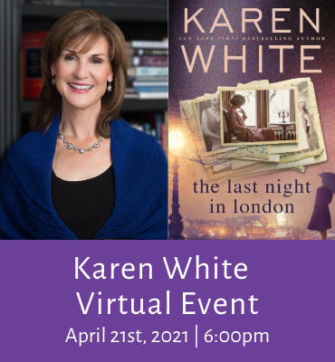 Karen White Virtual Event