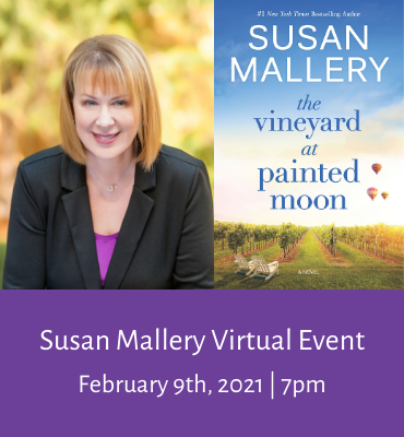 Susan Mallery Virtual Event